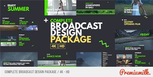 Complete Broadcast Design Package - After Effects Project (Videohive)
