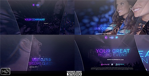 The Great Music Event - After Effects Project (Videohive)