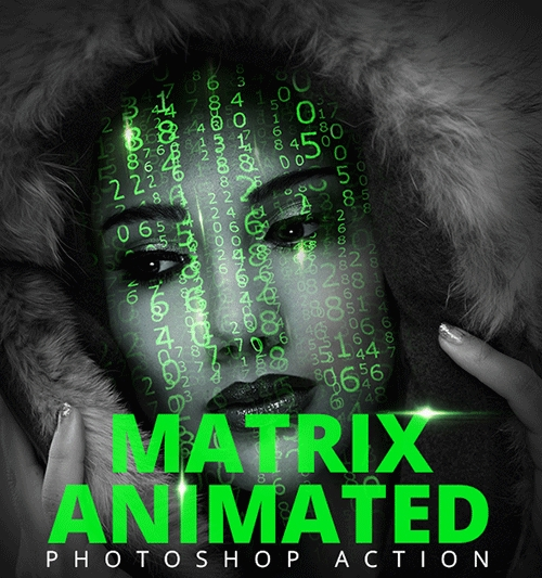 GraphicRiver Matrix Animation Action