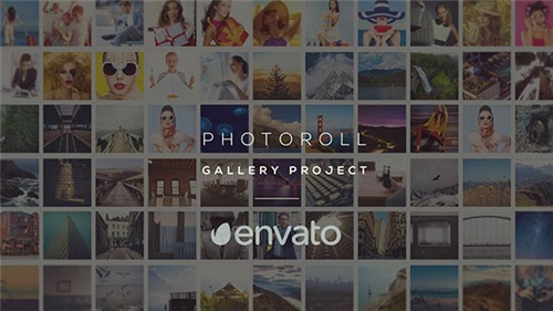 Photoroll - Gallery - After Effects Project (Videohive)