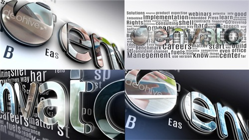 Simple 3D Logo - After Effects Project (Videohive)