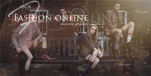 Fashion Online Shop - Apple Motion Template (Videohive)