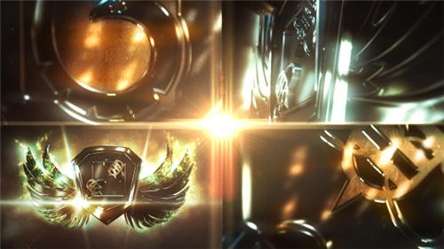Metal Wings Logo - After Effects Project (Videohive)
