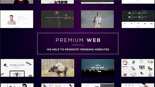 Premium Web l Website Presentation - After Effects Project (Videohive