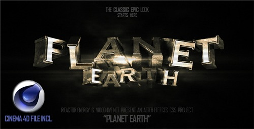 Planet Earth - After Effects Project (Videohive)
