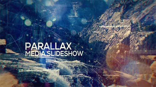 Parallax Media Slideshow - After Effects Project (Videohive)