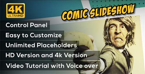 Comic Slideshow Opener - After Effects Project (Videohive)