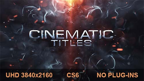 Cinematic Titles - After Effects Project (Videohive)