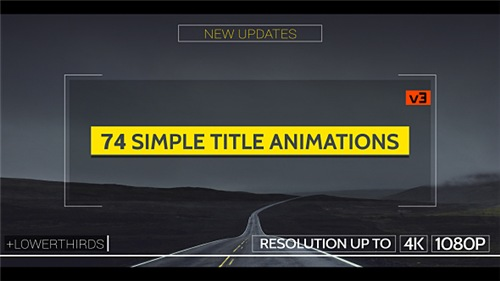 Simple Titles - v3 - After Effects Project (Videohive)