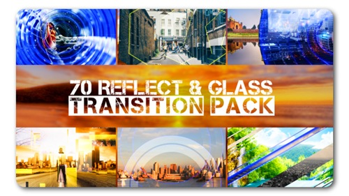 Transition Pack | Reflect N Glass - After Effects Project (Videohive