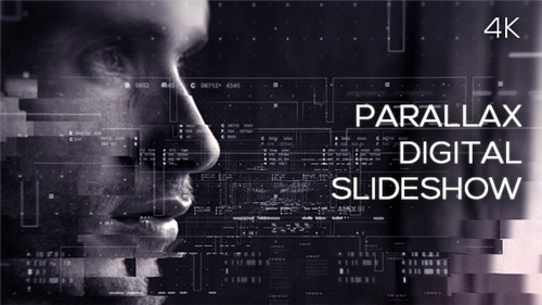 Parallax Digital Slideshow - After Effects Project (Videohive)