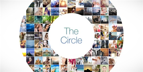 The Circle Mosaic Slideshow - After Effects Project (Videohive)