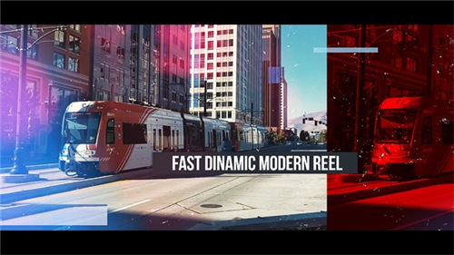 Fast Dinamic Modern Reel - After Effects Project (Videohive)