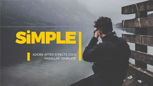 SImple Parallax Photo Gallery | v.3 - After Effects Project (Videohive)