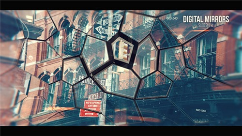 Digital Mirrors - After Effects Project (Videohive)