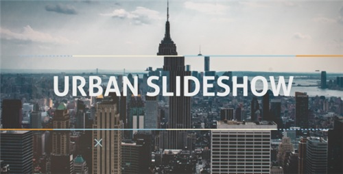 Urban Dynamic Slideshow - After Effects Project (Videohive)