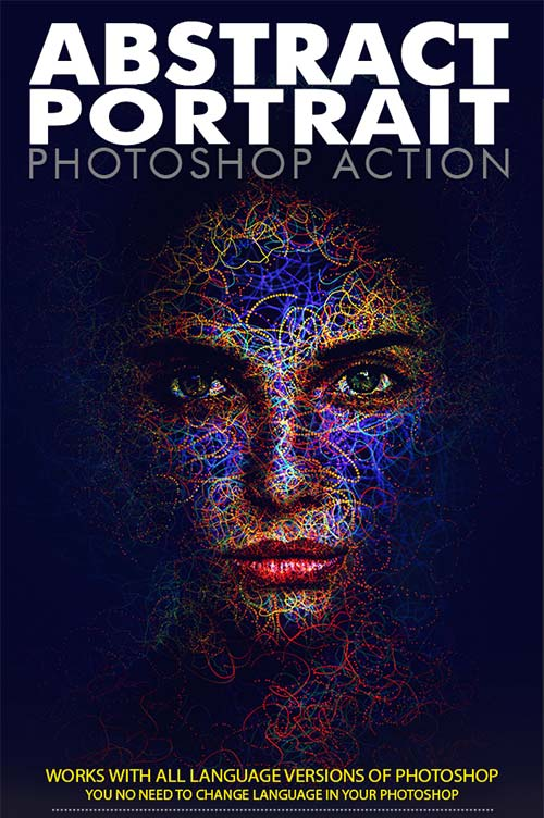 GraphicRiver Abstract Portrait Photoshop Action