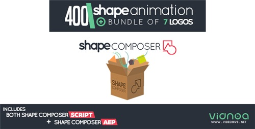 Shape Composer - After Effects Project (Videohive)