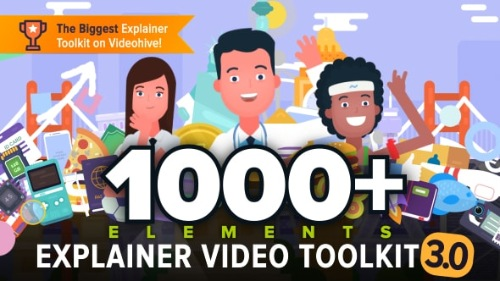 Explainer Video Toolkit 3 - After Effects Project (Videohive)