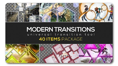 Modern Transition Pack | 40 items - After Effects Project (Videohive)