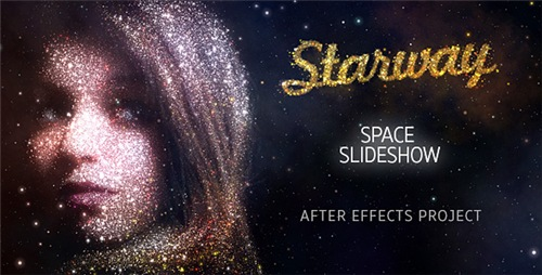StarWay Space Slideshow - After Effects Project (Videohive)