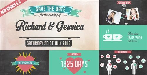 The Story of Us - Wedding Invitation - After Effects Project (Videohive)