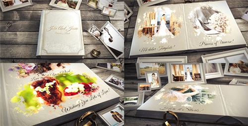 Wedding Book - After Effects Project (Videohive)