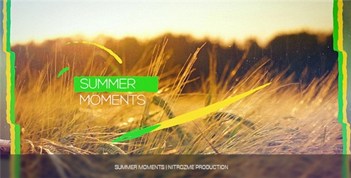 Summer Moments - After Effects Project (Videohive)