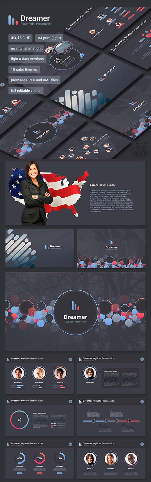 GraphicRiver Dreamer PowerPoint