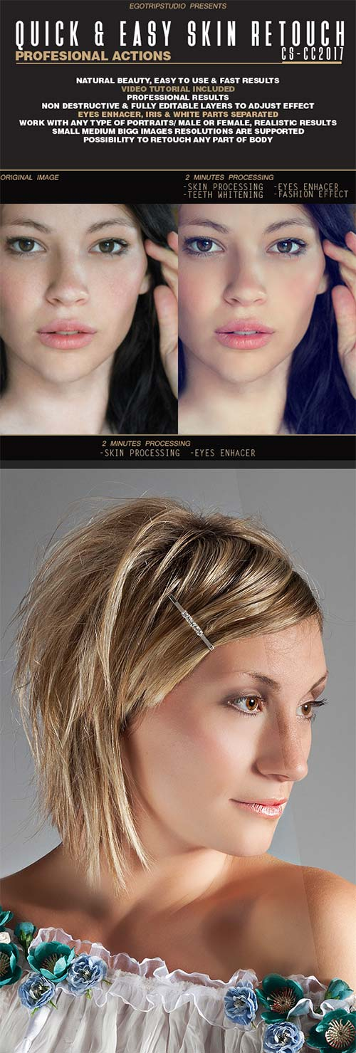 GraphicRiver Quick & Easy Skin Retouch