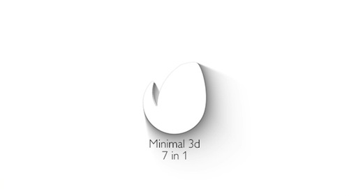 Minimal 3d - Elegant Logo Reveal - After Effects Project (Videohive)