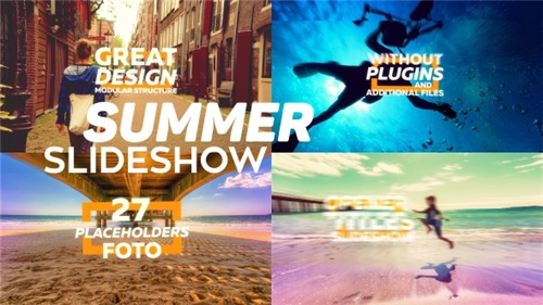 Summer Slideshow 16093863 - After Effects Project (Videohive)