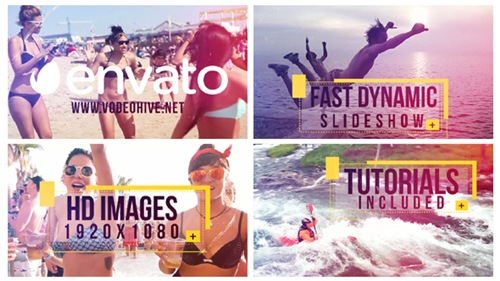 Fast Dynamic Slideshow - After Effects Project (Videohive)