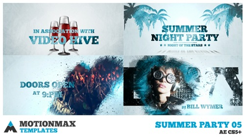 Summer Party 05 - After Effects Project (Videohive)
