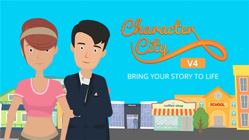 Explainer Video ToolKit : Character City V4 - After Effects Project (Videohive)