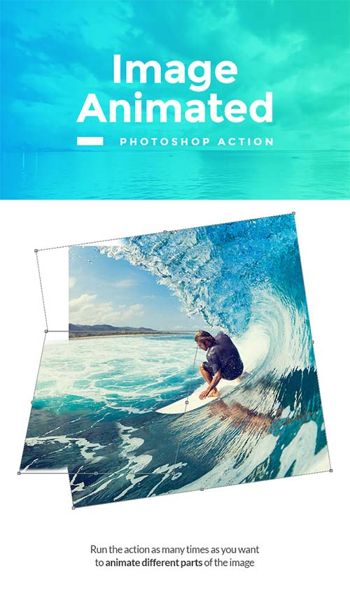 GraphicRiver Image Animated Photoshop Action