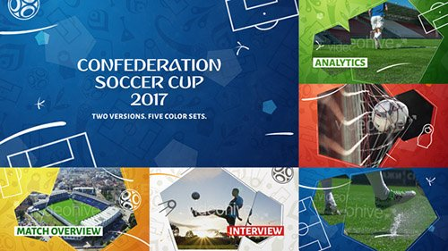 Confederation Football (Soccer) Cup Opener - After Effects Project (Videohive)