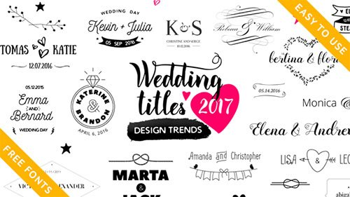 Wedding Titles 16778091 - After Effects Project (Videohive)