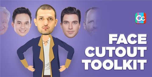 Face Cutout Toolkit - After Effects Project (Videohive)