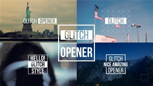 Dynamic Glitch Opener 2 - After Effects Project (Videohive)