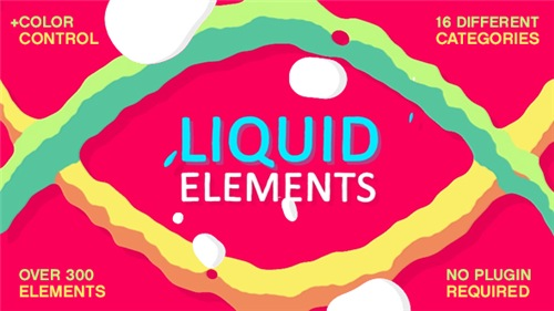 Liquid Elements FX - After Effects Project (Videohive)