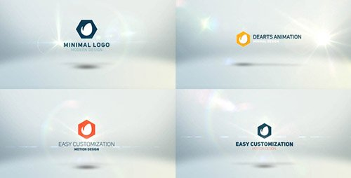 Minimal Modern Logo - After Effects Project (Videohive)