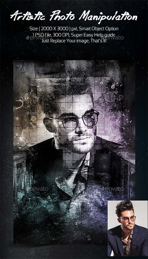 GraphicRiver Artistic Photo Manipulation Template 20021215