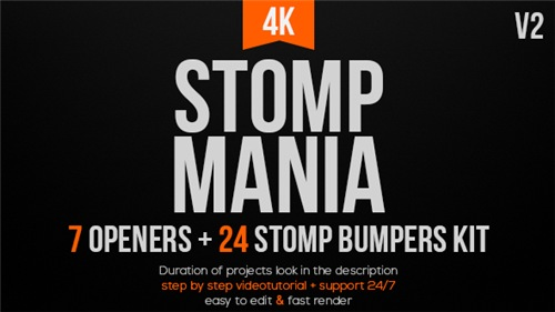 Stomp Mania - After Effects Project (Videohive)
