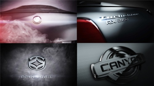 Carbon Turbo Text & Logo - After Effects Project (Videohive)