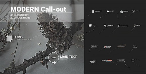 Modern Call-outs - After Effects Project (Videohive)