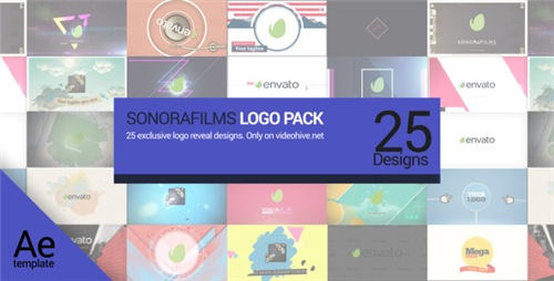 Sonorafilms Logo Pack - After Effects Project (Videohive)