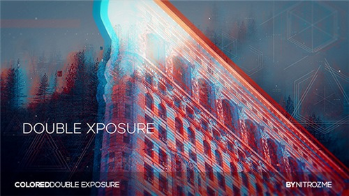 Colored Dual Exposure - After Effects Project (Videohive)