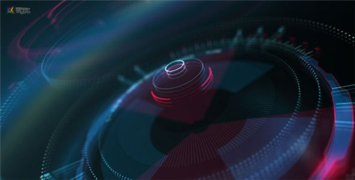 Hi-Tech HUD Logo Reveal - After Effects Project (Videohive)