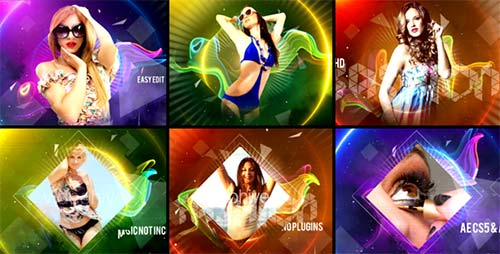 Colorful Fashion Intro - After Effects Project (Videohive)